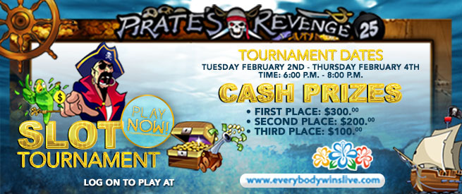 Slot Tournament (Feb 2-4)